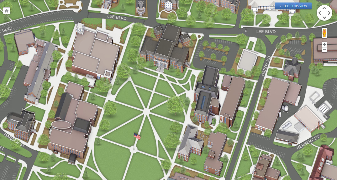Mississippi State Debuts New Interactive Campus Map System